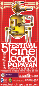 Festival de Cine Corto de Popayán 2013