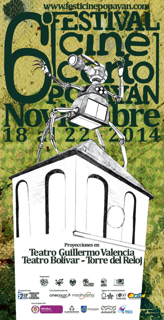 Festival de Cine Corto de Popayán 2014